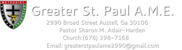 Greater St. Paul A.M. E.